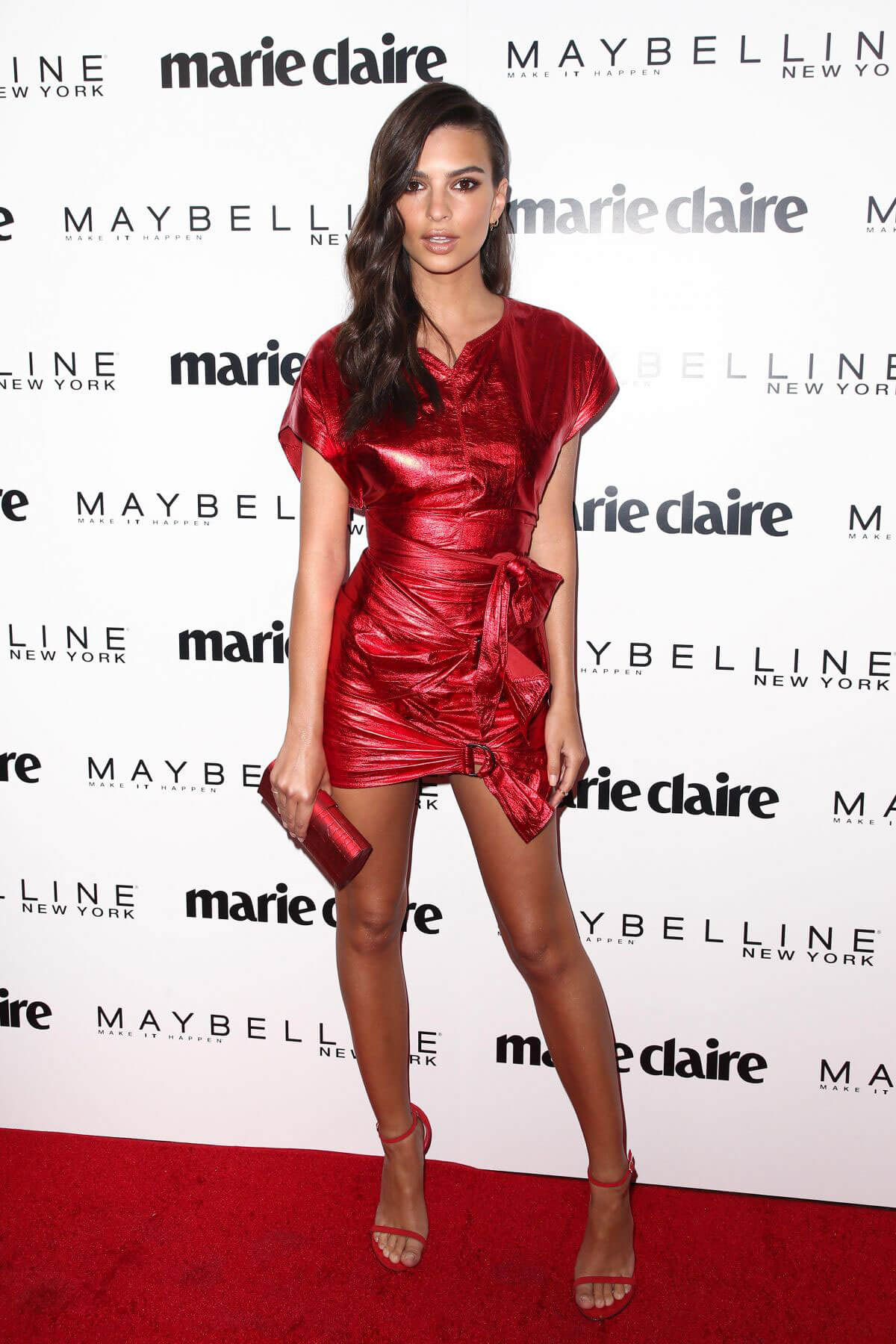 Emily Ratajkowski Stills at Marie Claire Celebrates Fresh Faces in Los Angeles