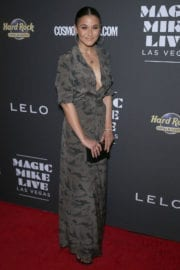 Emmanuelle Chriqui Stills at Magic Mike Live Las Vegas Opening Night