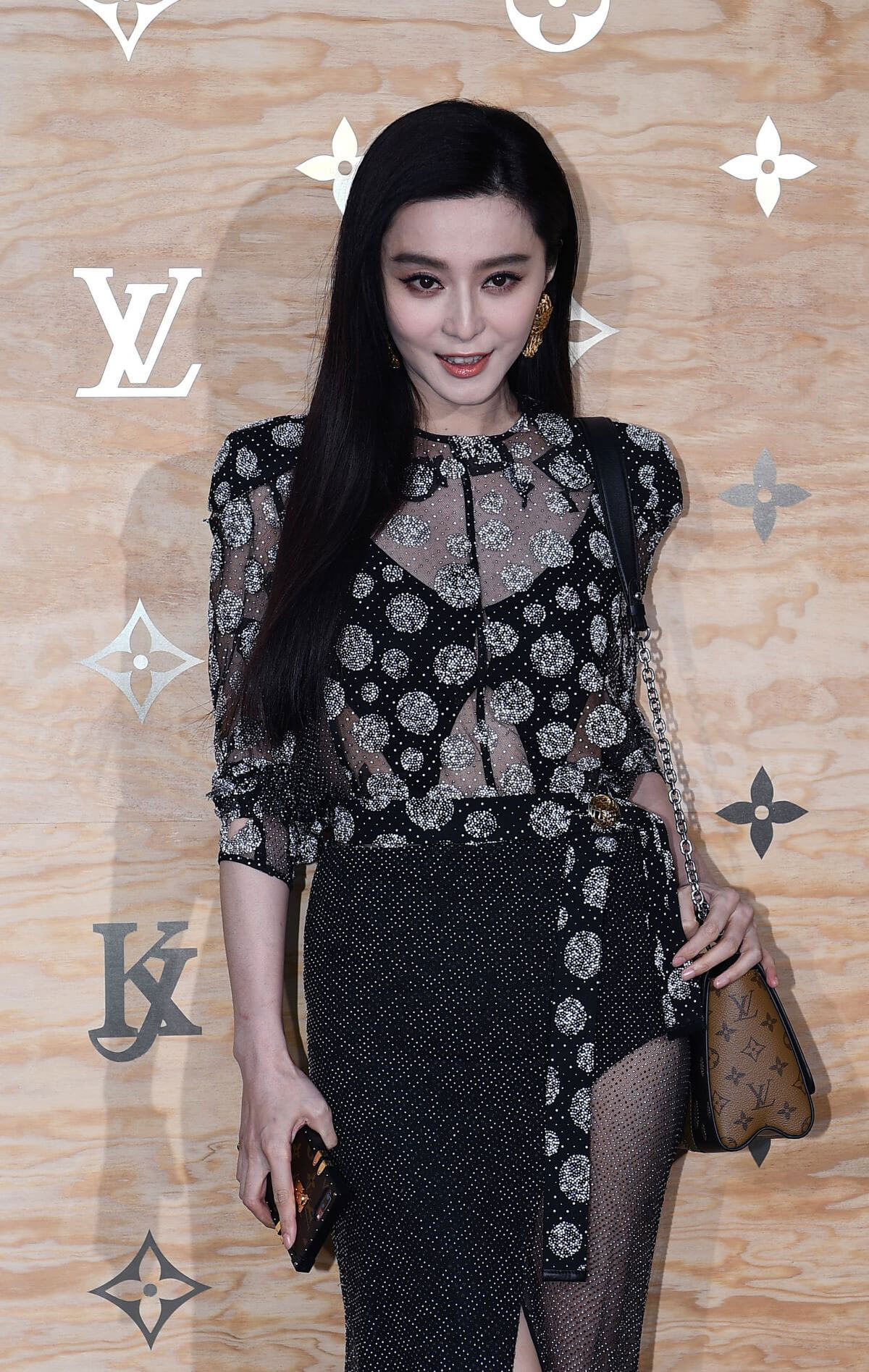 Fan Bingbing Stills at Louis Vuitton Dinner Party in Paris