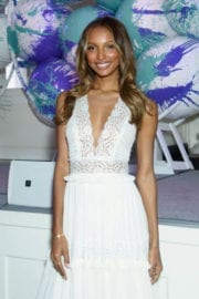 Jasmine Tookes at Fragrance Foundation Awards Finalist's Luncheon in New York