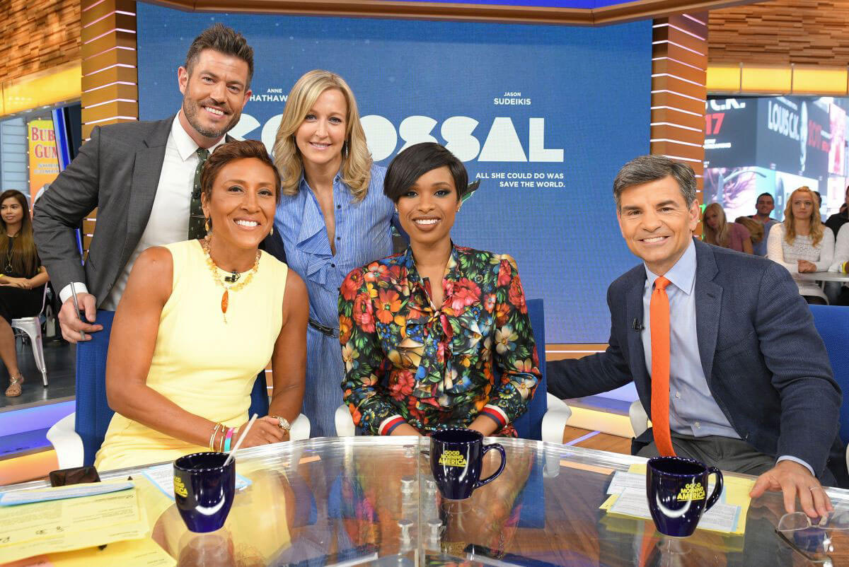 Jennifer Hudson Stills on the Set of Good Morning America