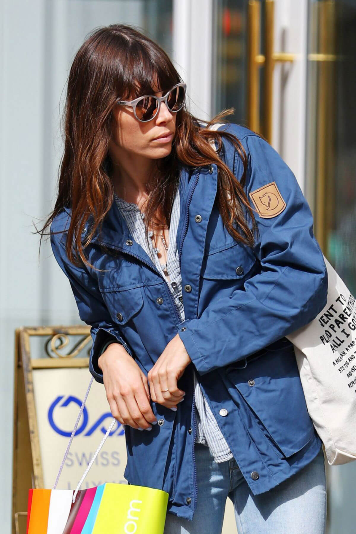 Jessica Biel Stills Out Shopping in New York