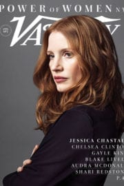 Jessica Chastain on the Cover of Variety's Power of Women Issue, April 2017
