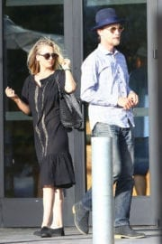 Kaley Cuoco and Karl Cook Stills Out for Lunch in Los Angeles