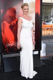 Katherine Heigl Stills at Unforgettable Premiere in Los Angeles