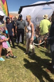 Katy Perry Stills at Her Easter Sunday Coachella Brunch in Thermal