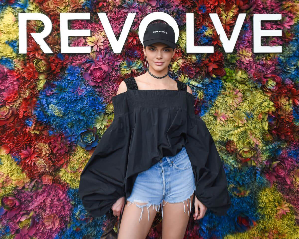 Kendall Jenner Stills at Revolve Festival Day 2 at Coachella Valley Festival in Indio