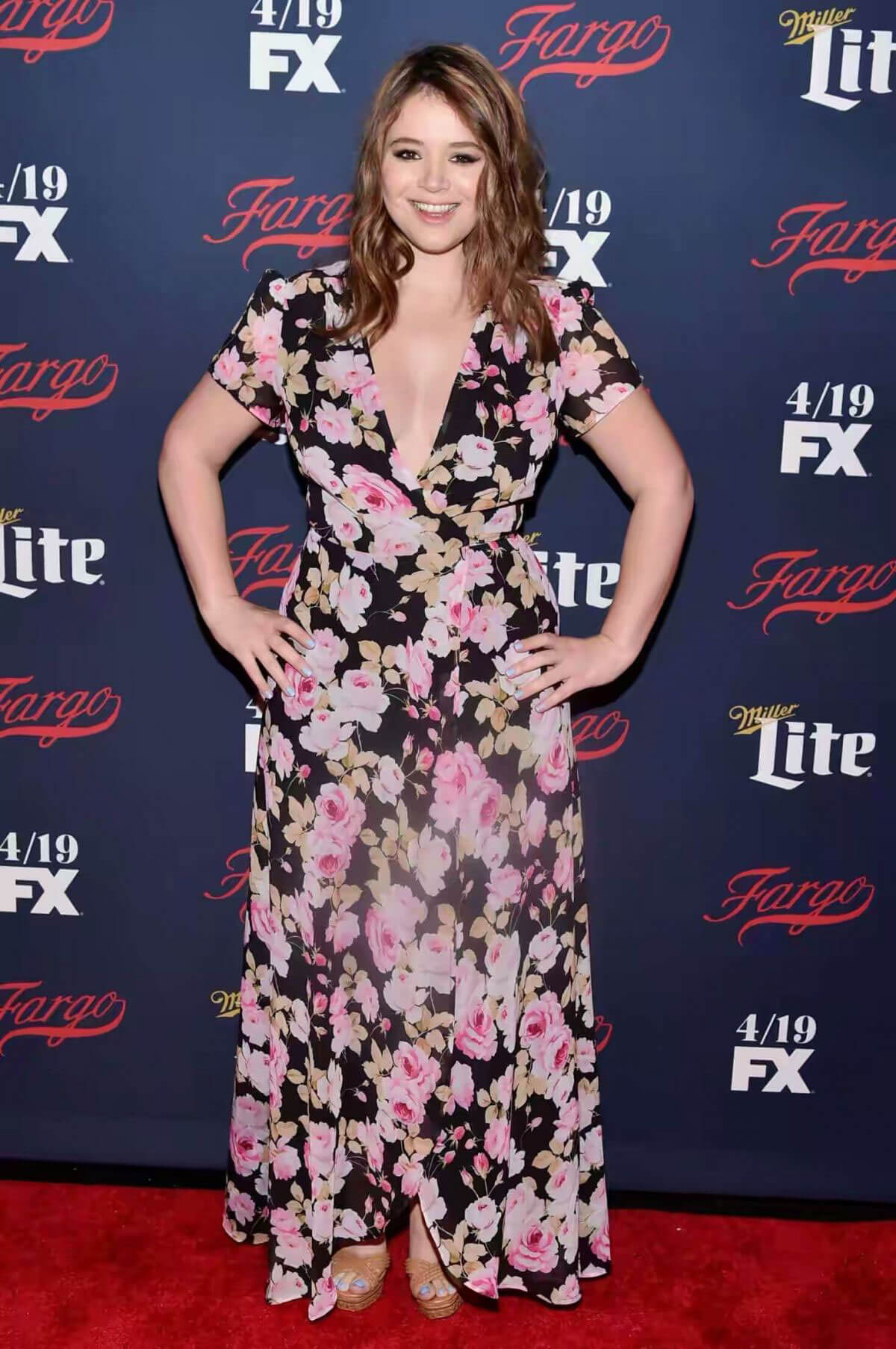 Kether Donohue Stills at FX Network 2017 All-star Upfront in New York