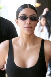 Kim Kardashian Stills out for lunch in Los Angeles