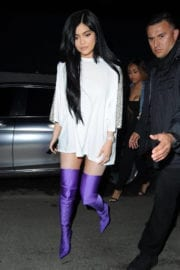Kylie Jenner at Pretty Little Thing Shape x Stassie Launch Party in Hollywood