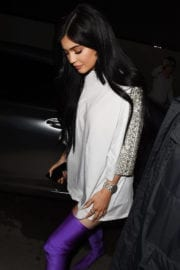 Kylie Jenner Stills Night Out in New York