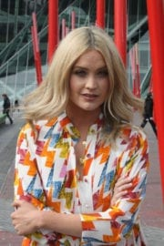 Laura Whitmore Stills at Not Dead Enough Photocall in Dublin