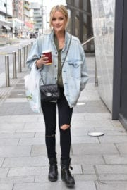 Laura Whitmore Stills Out and About in Dublin