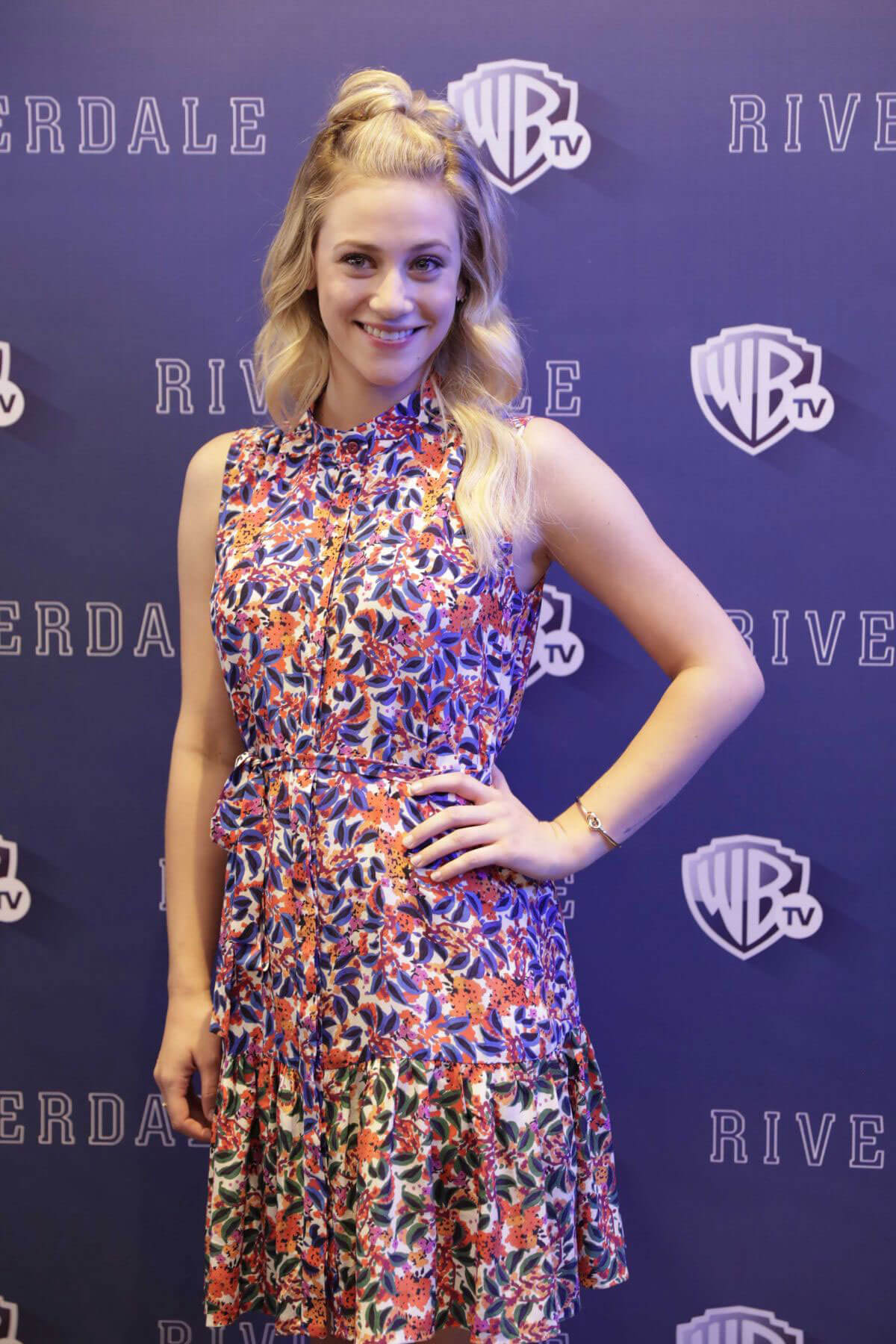 Lili Reinhart Stills at Riverdale' TV Series Photocall in Mexico City