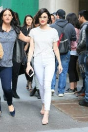 Lucy Hale Out and About in New York