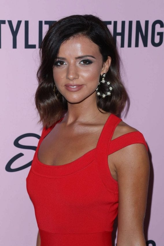 Lucy Mecklenburgh at Pretty Little Thing Shape x Stassie Launch Party in Hollywood