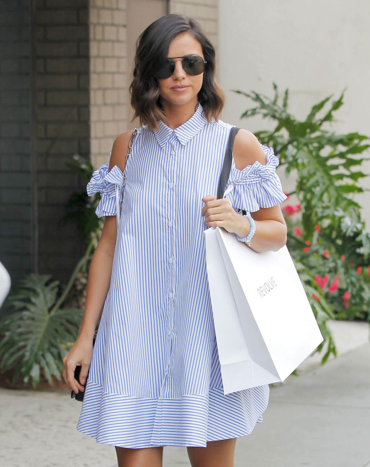 Lucy Mecklenburgh Stills Out Shopping in West Hollywood