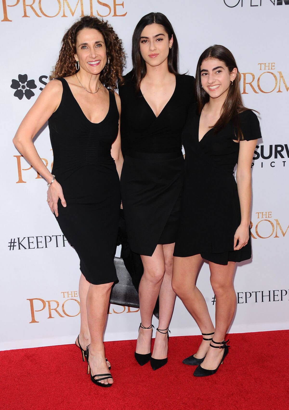 Melina Kanakaredes Stills at The Promise Premiere in Hollywood