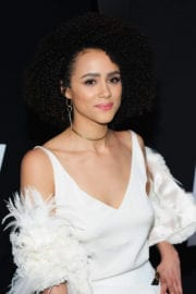 Nathalie Emmanuel Stills at The Fate of the Furious Premiere in New York