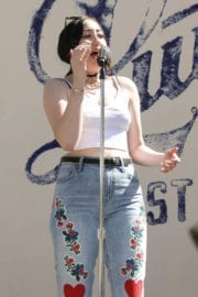 Noah Cyrus Performs at Lucky Lounge Desert Jam in Palm Springs