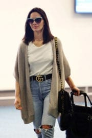 Olivia Munn Stills at Vancouver International Airport