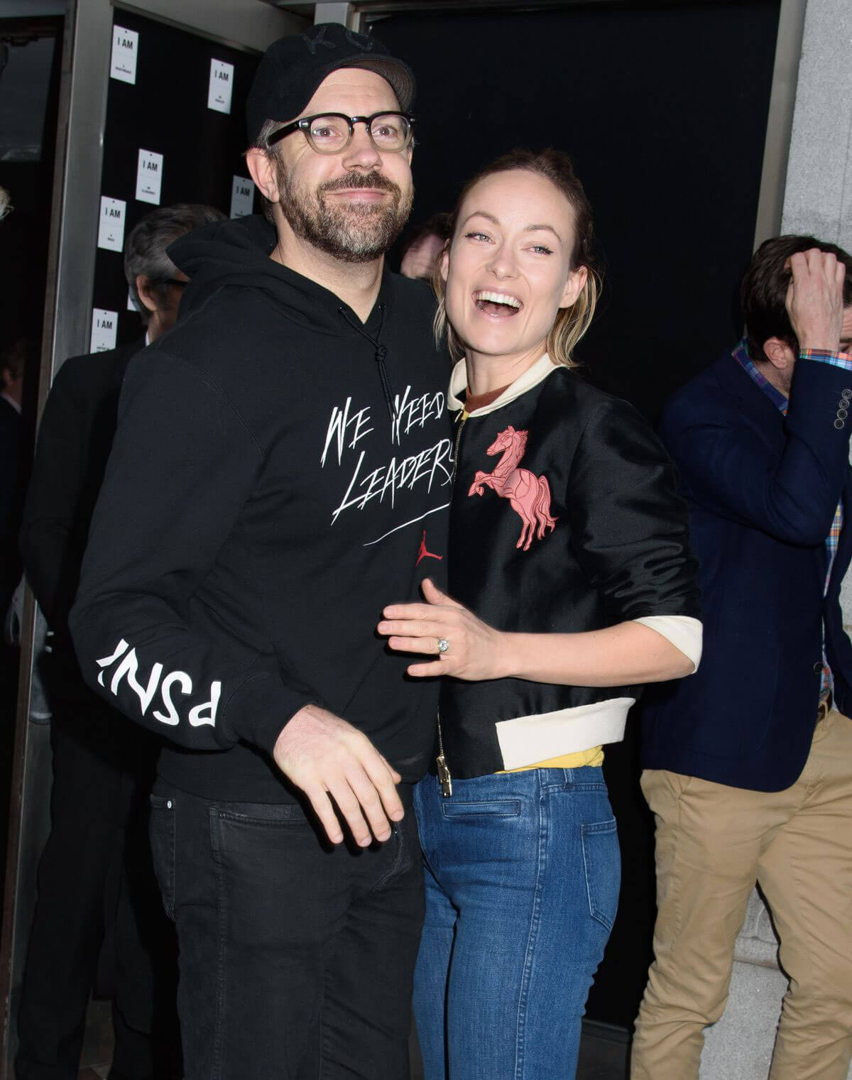 Olivia Wilde Stills at In of Itself Opening Night on Broadway in New York
