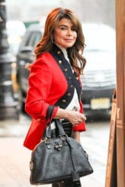 Paula Abdul Shopping Out in New York