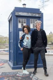Pearl Mackie Stills at Doctor Who Cast Promotions at Southbank