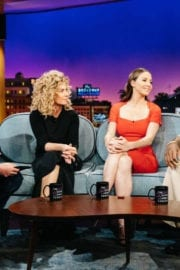 Shania Twain at Late Late Show with James Corden