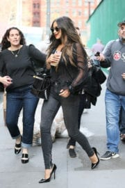 Shay Mitchell Stills Out and About in New York