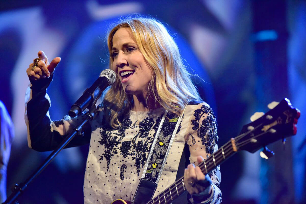 Sheryl Crow at Late Show with Stephen Colbert