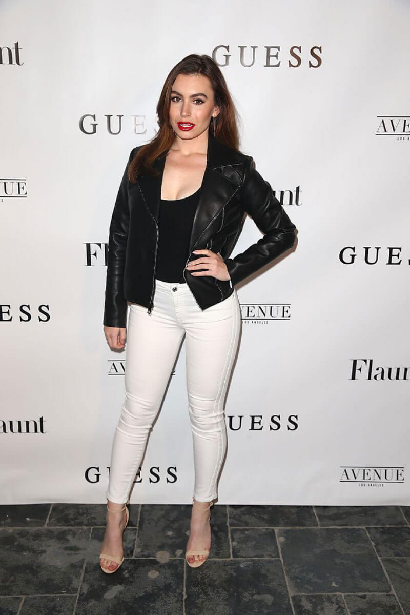 Sophie Simmons at Flaunt and Guess Celebrate in Los Angeles