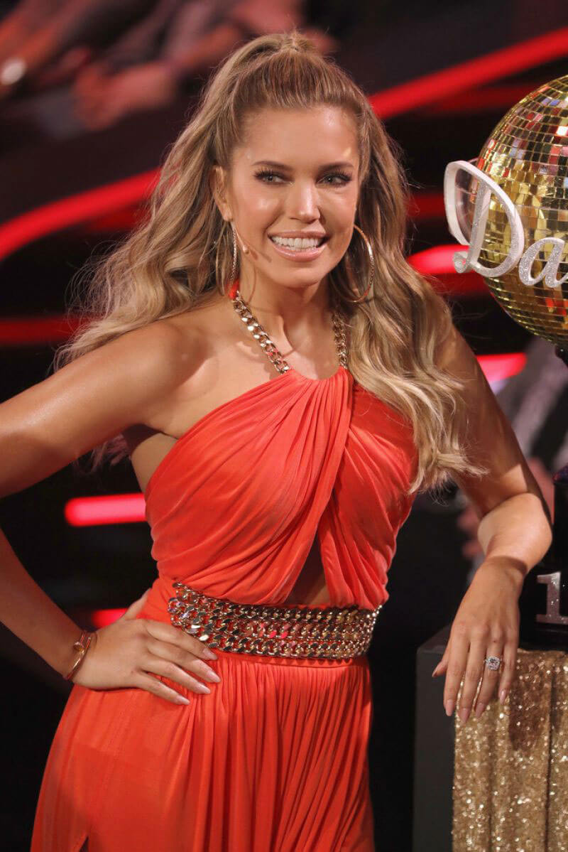 Sylvie Meis at Let's Dance 5th Show in Cologne