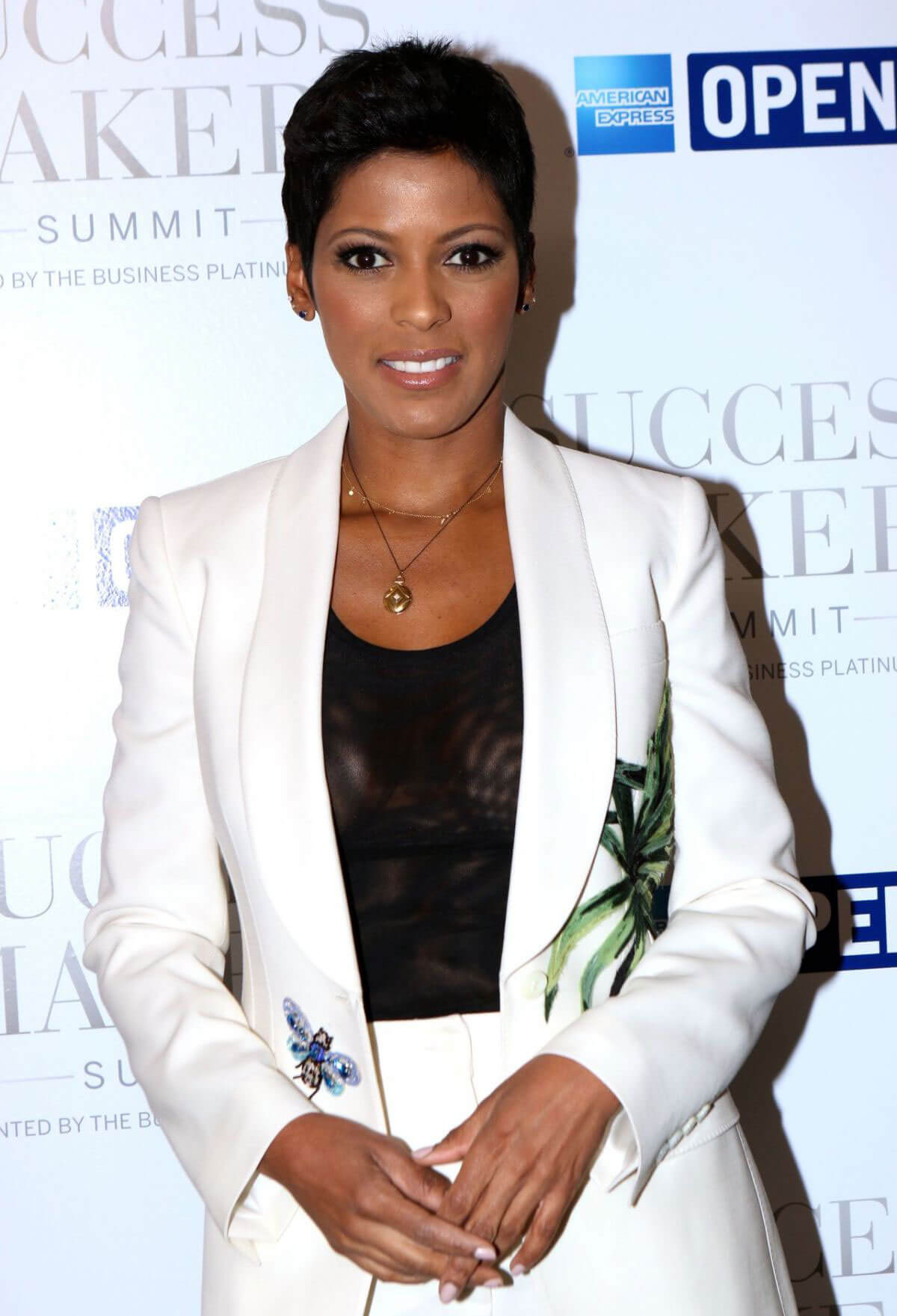 Tamron Hall Stills at American Express Success Makers Summit in New York