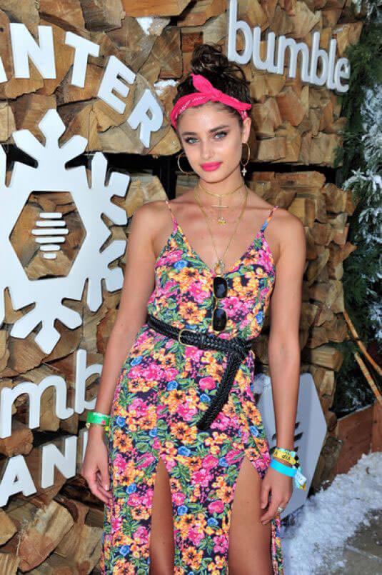 Taylor Hill Stills at Winter Bumberland Party at Coachella 2017 in Indio