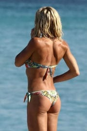 Torrie Wilson in Bikini on the Beach in Miami