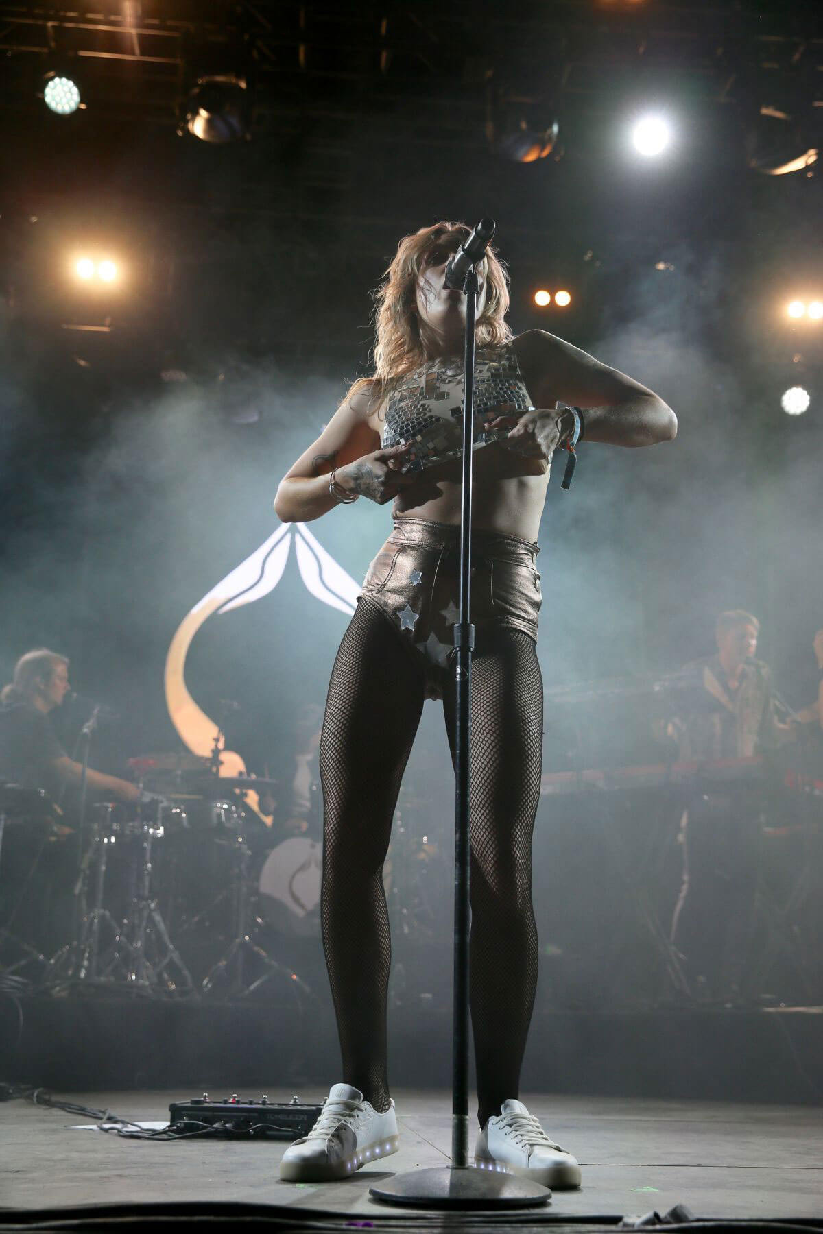 Tove Lo Performs at Coachella Valley Music and Arts Festival in Indio