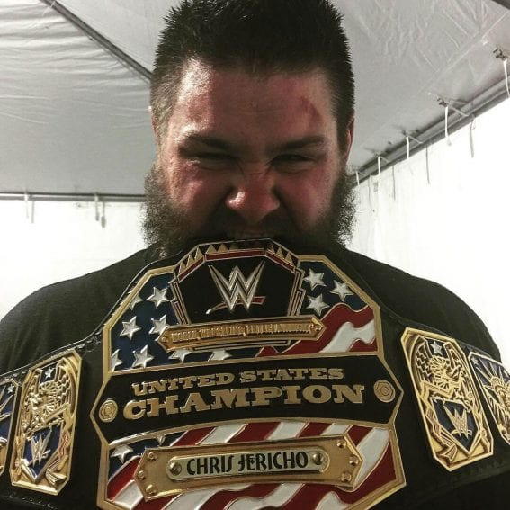 WrestleMania 33: Kevin Owens won the US Championship for the first time by defeating Chris Jericho