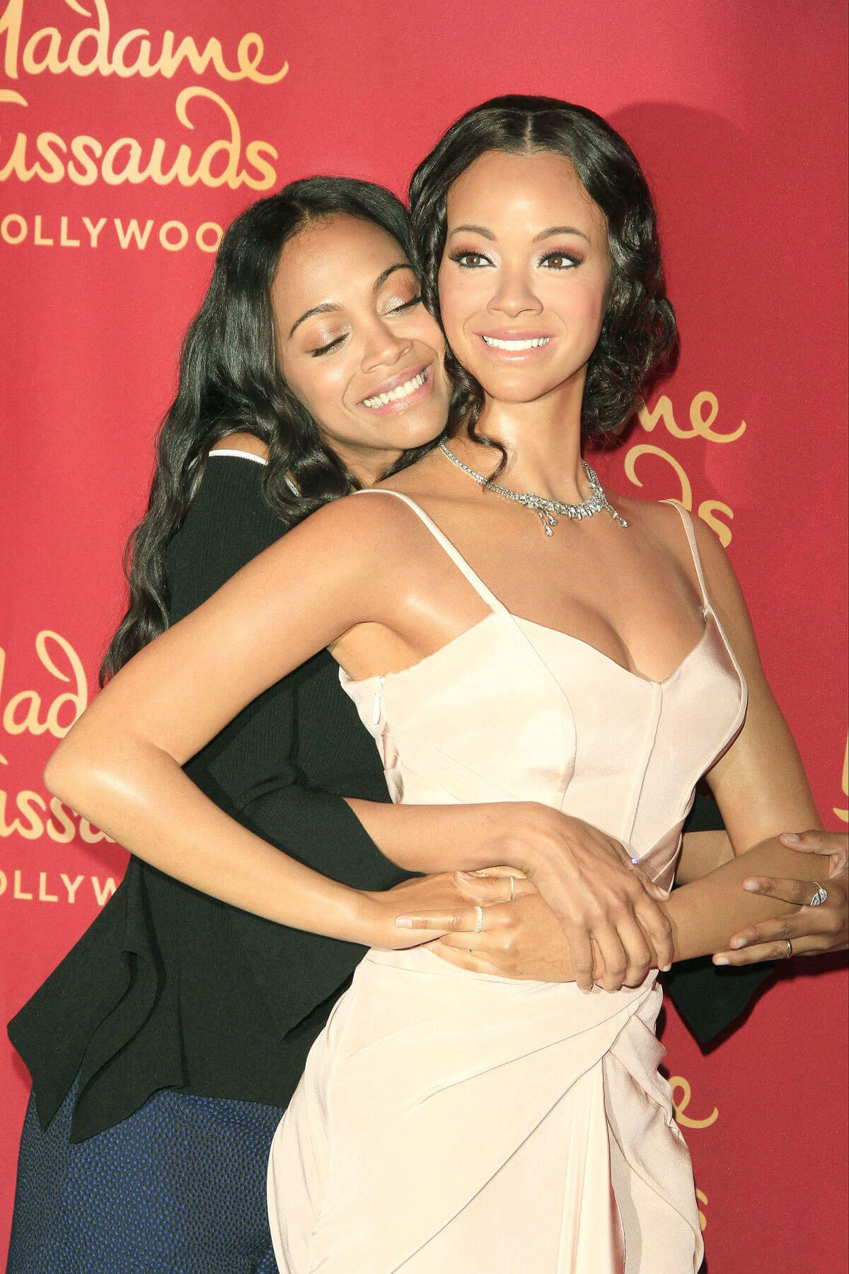 Zoe Saldana at Madame Tussaud's Hollywood Unveiling of Her Wax Figure