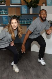 Allison Holker at Listerine #unlockyourbold Launch Party in New York