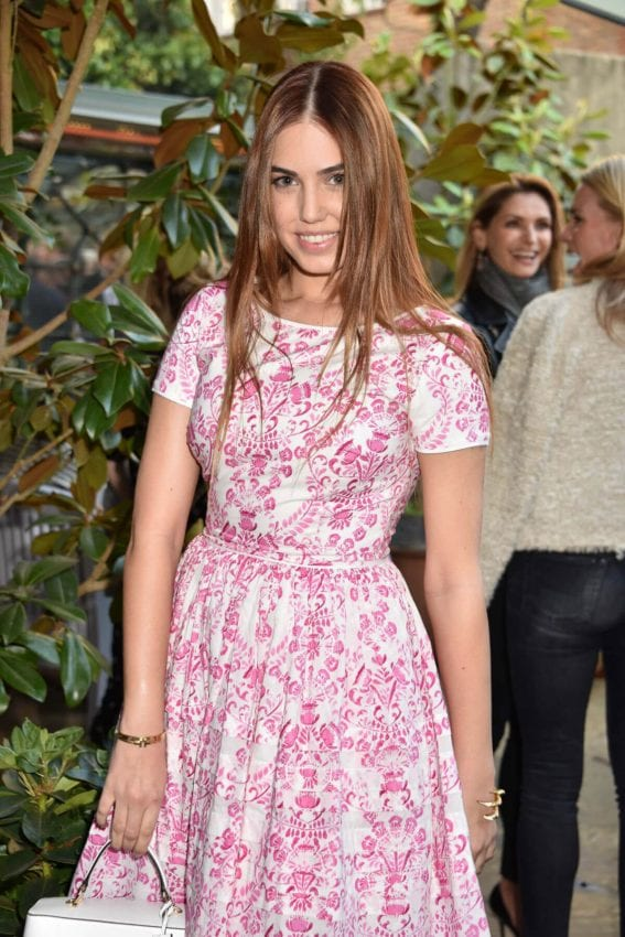 Amber Le Bon at Ivy Chelsea Garden Summer Party in London