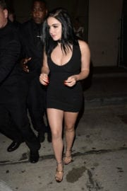 Ariel Winter in Tight Dress at Catch LA in West Hollywood