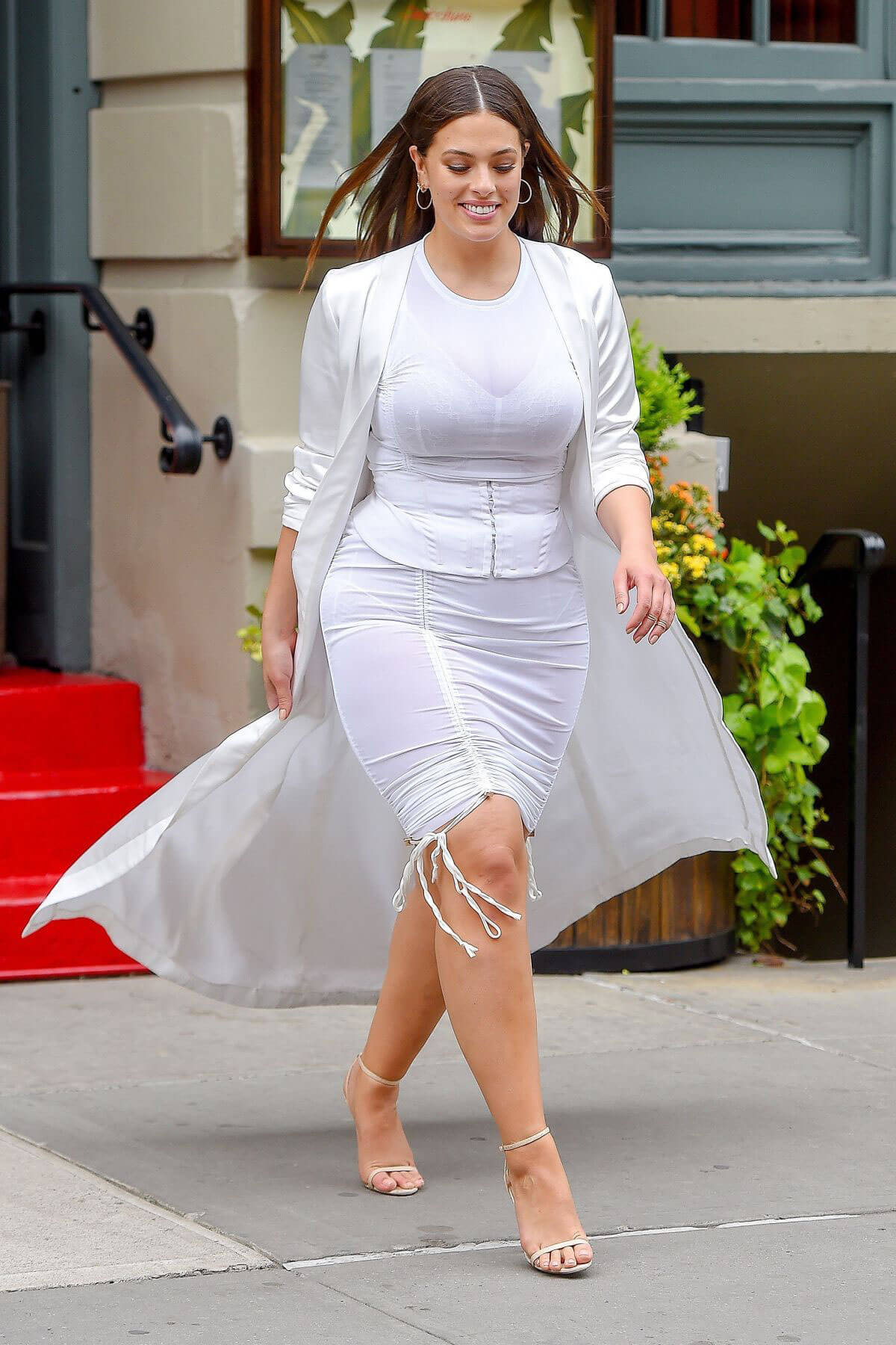 ASHLEY GRAHAM Out in New York