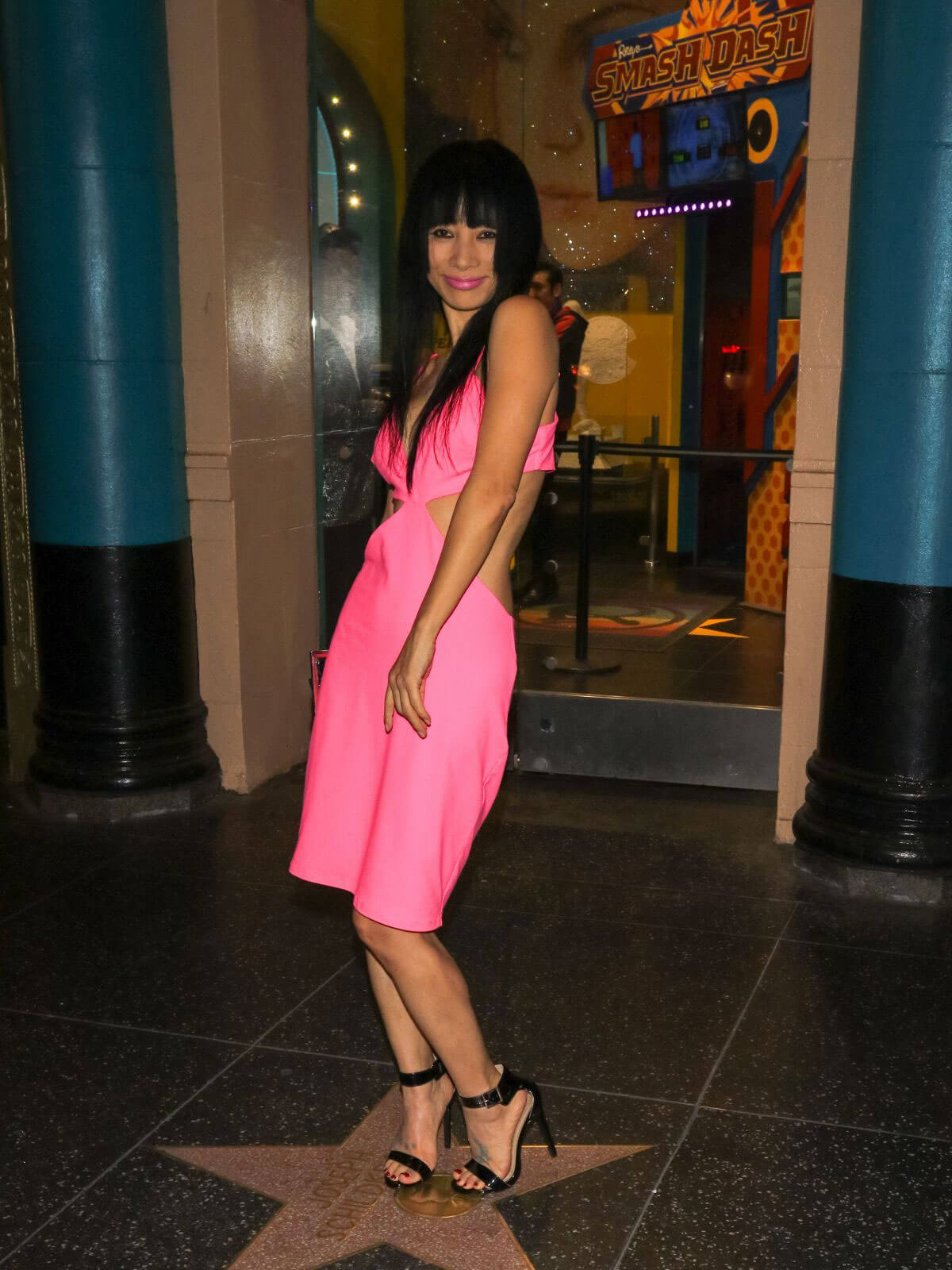 Bai Ling Stills Night Out in Los Angeles