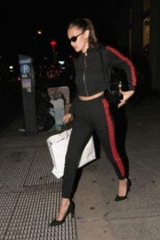 Bella Hadid Out Shopping in New York
