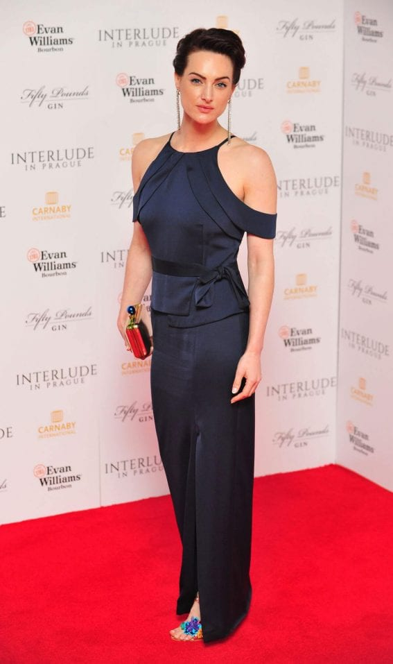 Charlotte Peters at Interlude in Prague Premiere in London