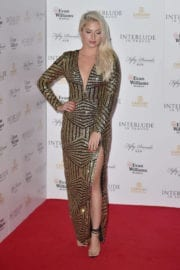 Chloe Paige at Interlude in Prague Premiere in London