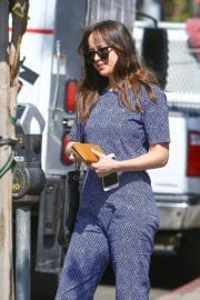 Dakota Johnson Out and About in Los Angeles
