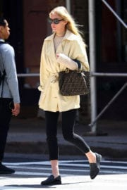 Elsa Hosk Stills Out and About in New York