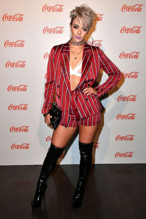 Hatty Keane Stills at Coca-Cola Summer Party in London